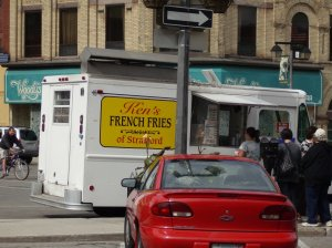 french fry truck