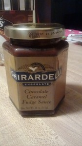 ghiradeli hot fudge jar