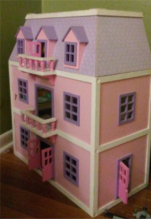 daddy doll house