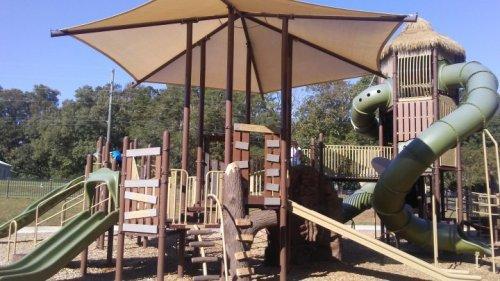 Athens playground
