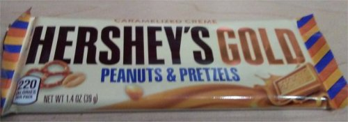 Hershey's gold bar