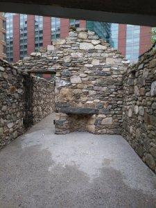 Irsish memorial cottage