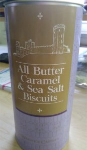 all butter caramel and sea salt biscuits
