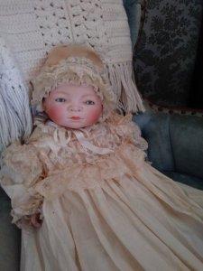 intense stare doll