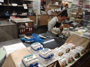 making cakes in Oxford
