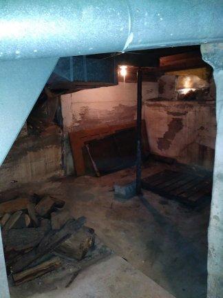 Nana's creepy basement