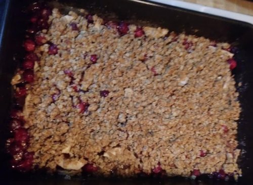 cran apple crisp #2