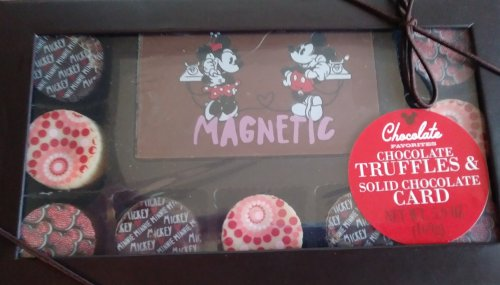 Disney truffles box